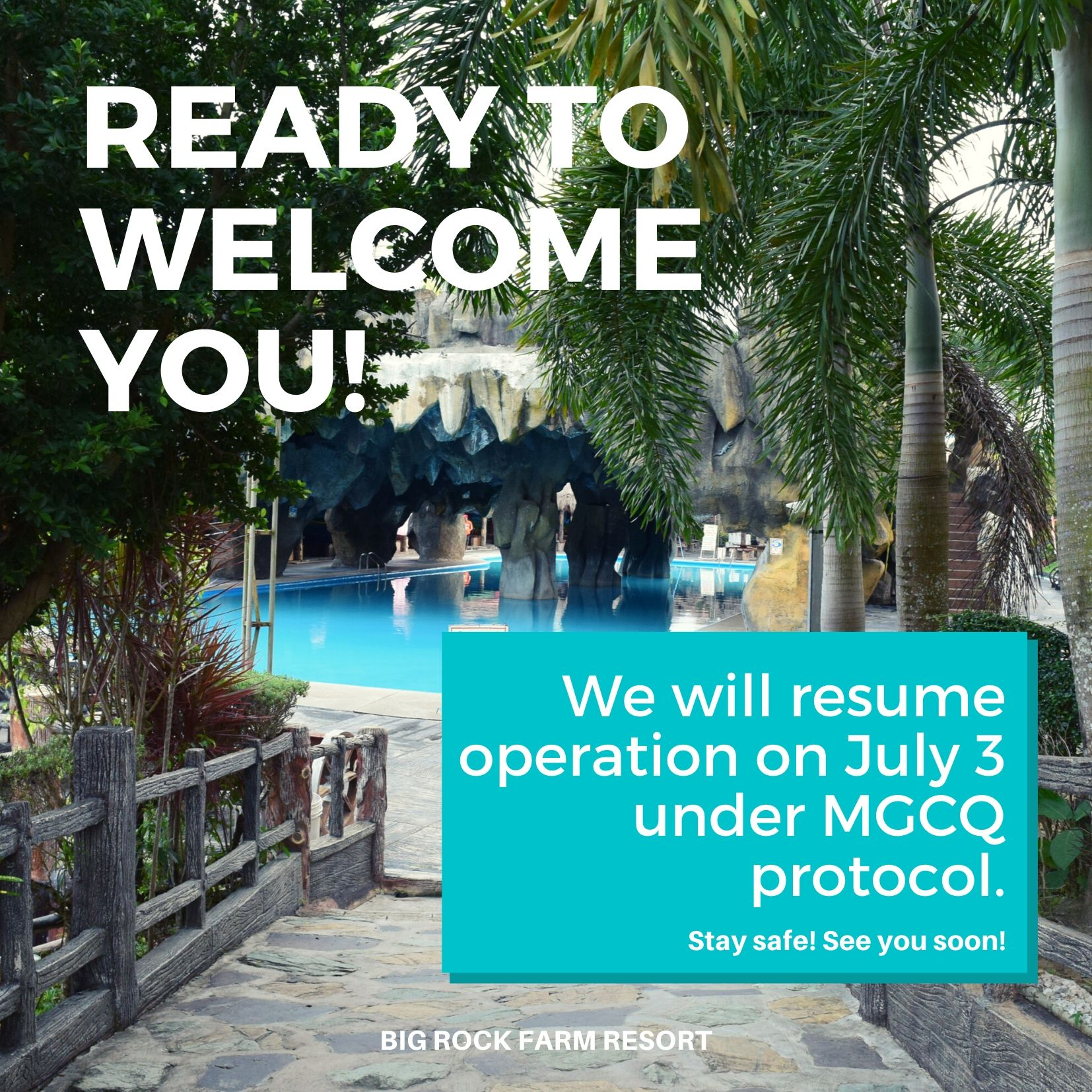 Resume operation on July 3, 2020 under MGCQ protocol