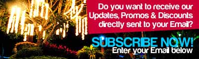 Enter your Email to receive our Latest Update, Promos and Discounts!